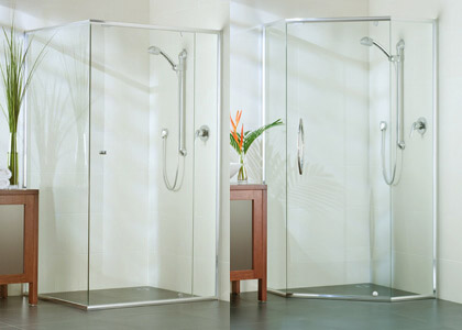 Evolution – Semi Frameless Shower Screen