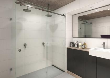 Manhattan - Frameless Shower Screen